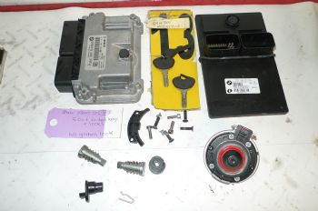 BMW F800ST ECU + CODED KEYS + LOCKS ((WEB-STCOK))((A-SK)) (CON-B)